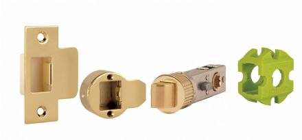 Jigtech JTL4422 Smart Privacy Latch 57mm Polished Brass